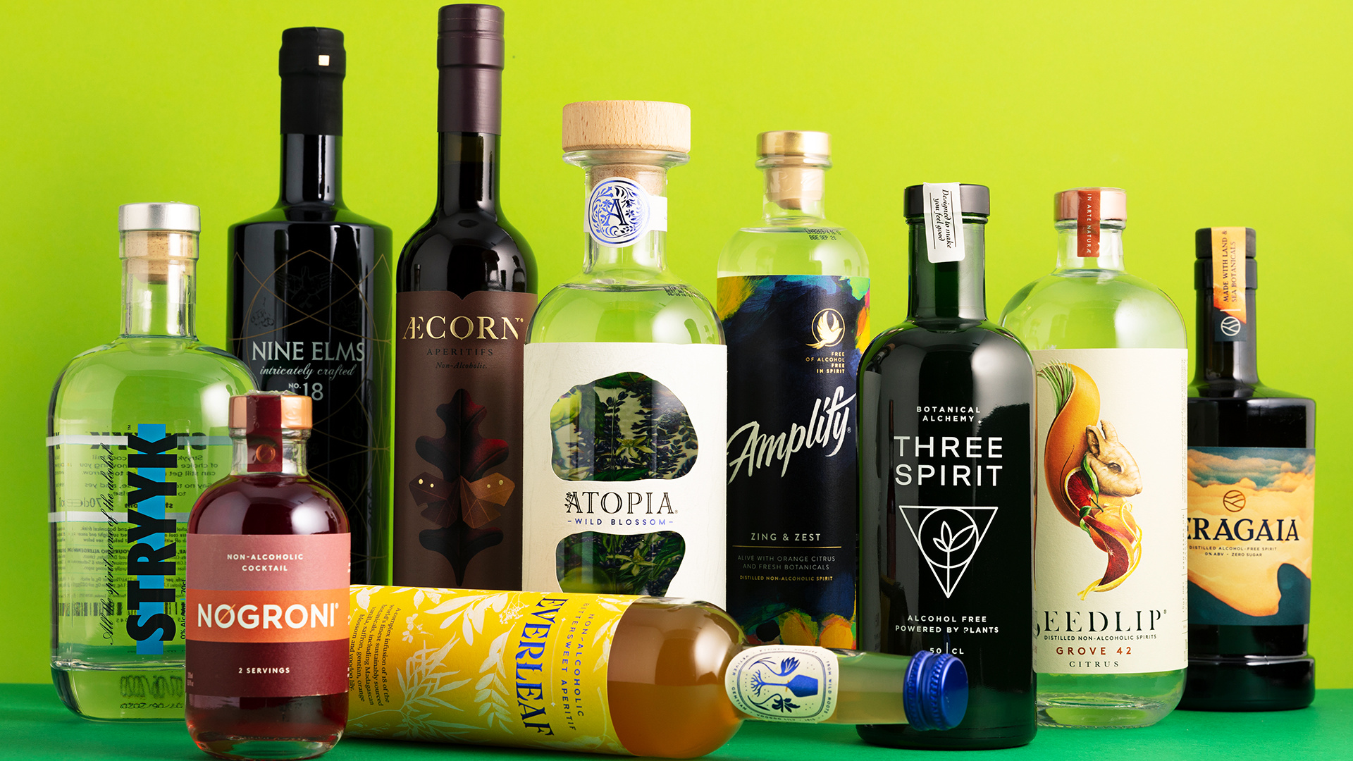 10 Best Non-Alcoholic Spirits: A selection of the non-alcoholic spirits team Foodism tried