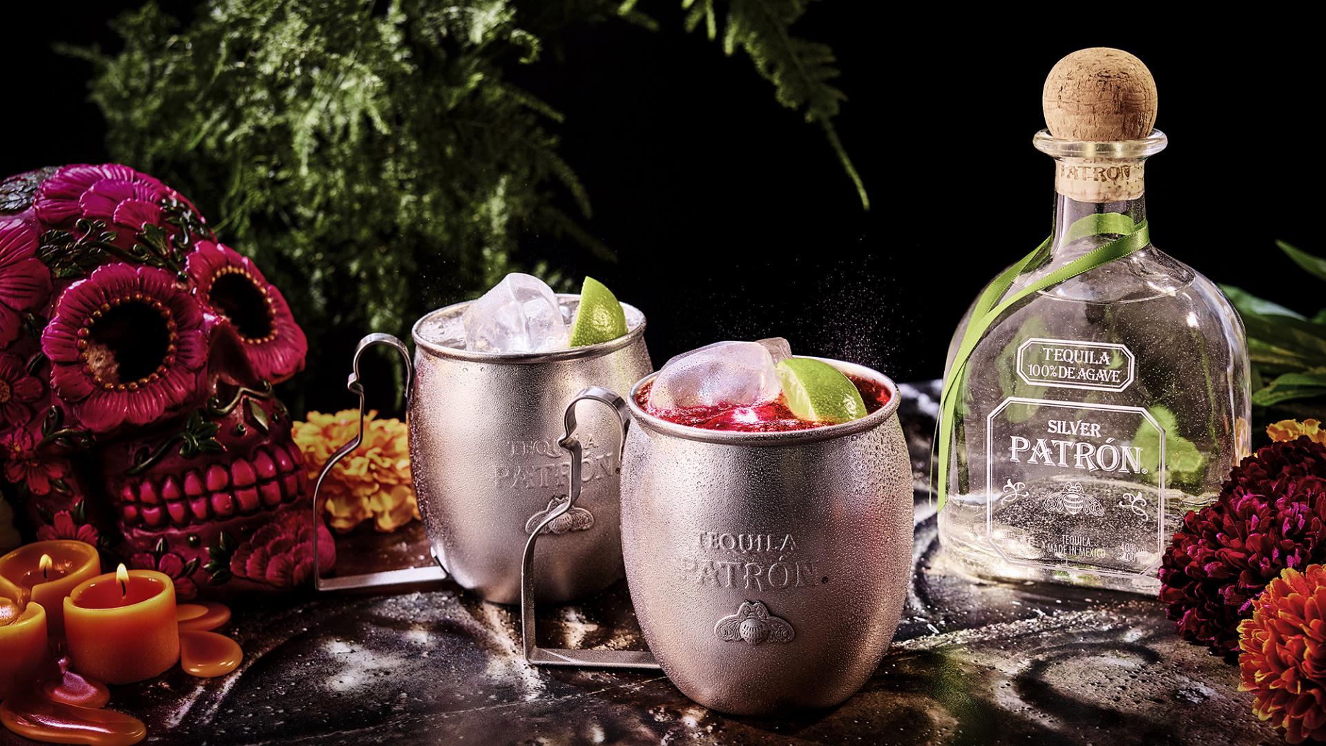 Patrón's 'Ofrenda' Día de Muertos cocktail