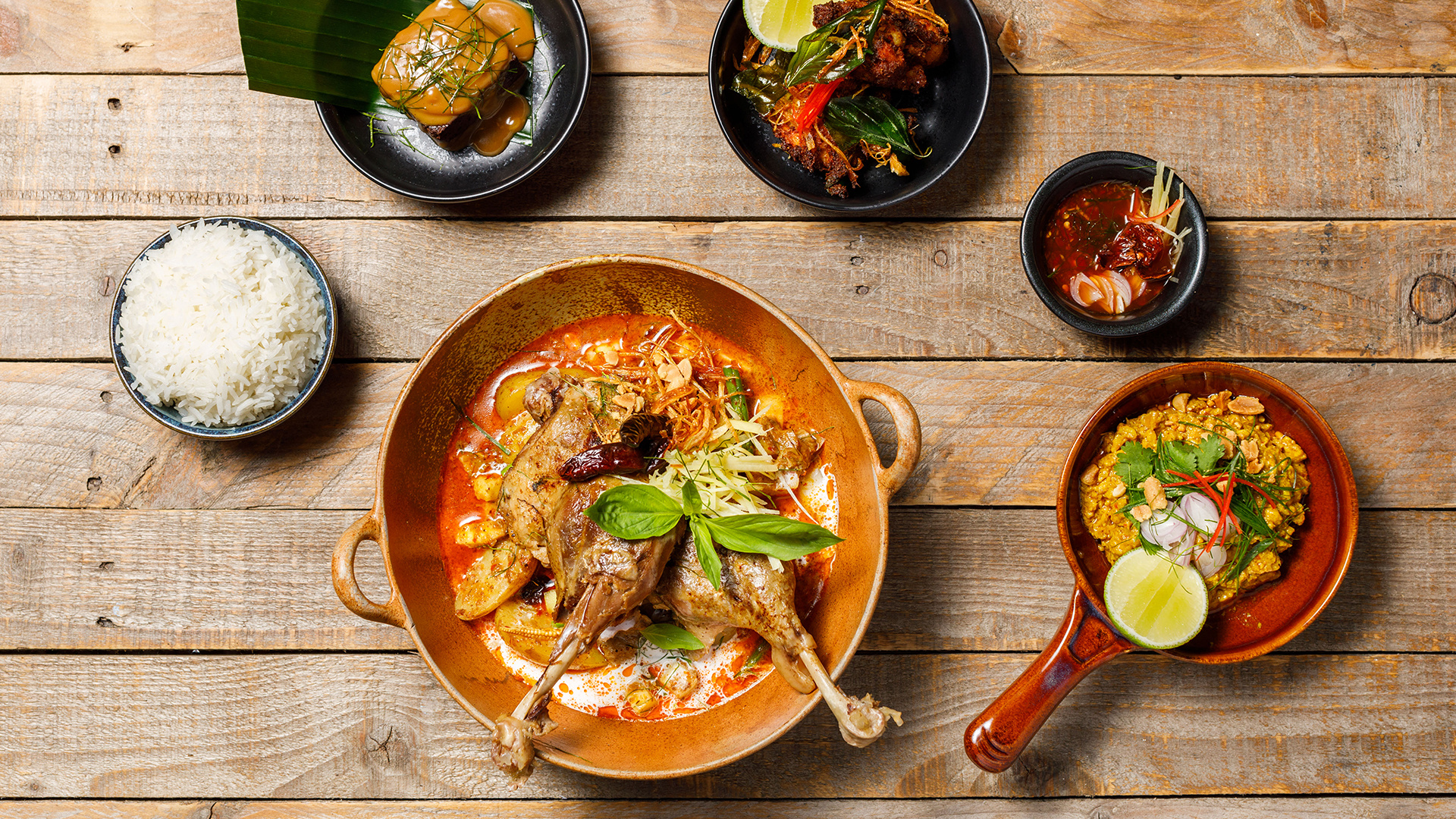 Restaurant meal kits: Farang's Thai Feast with Dishpatch