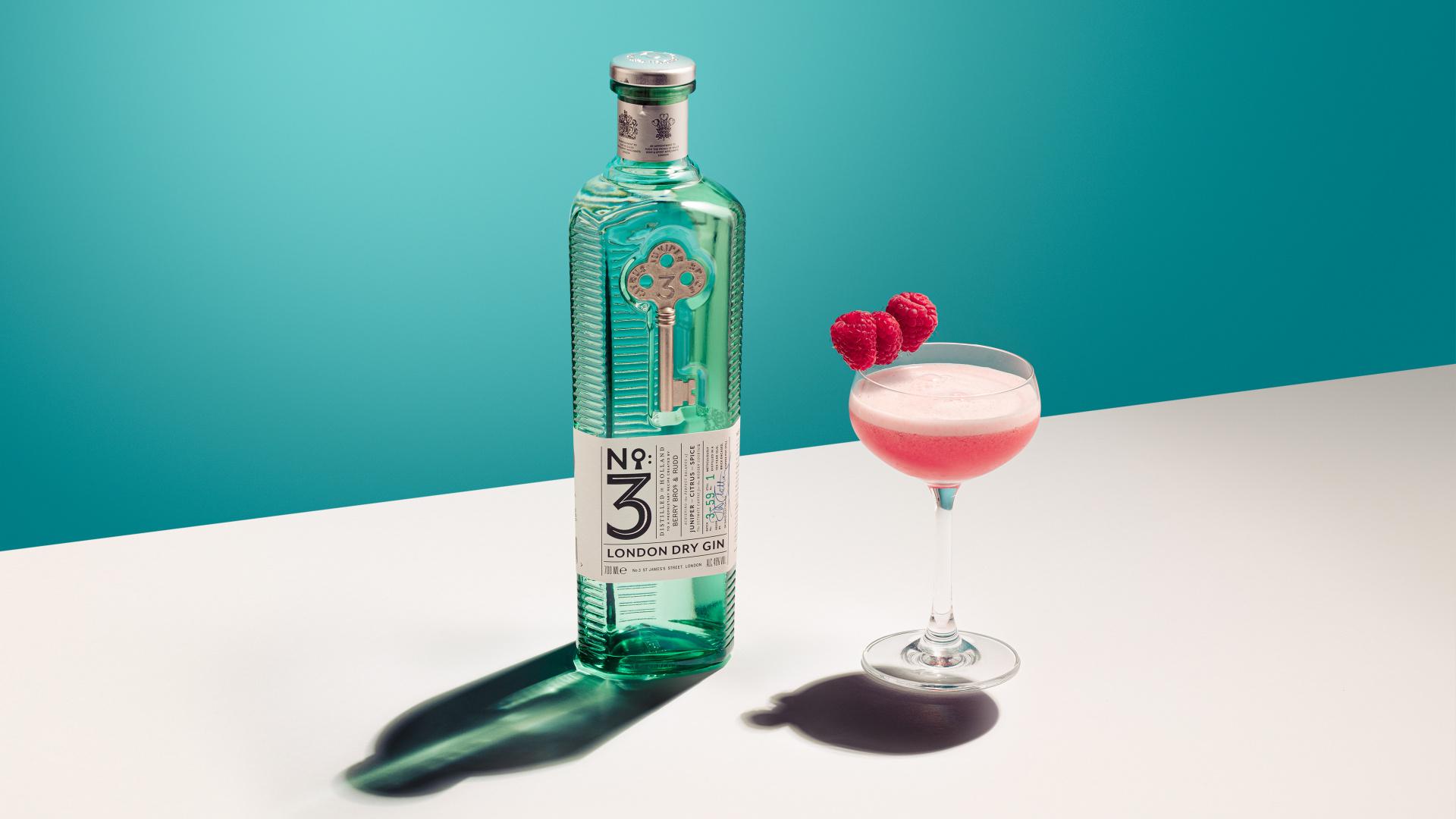 No.3 Gin Valentine's Clover Club