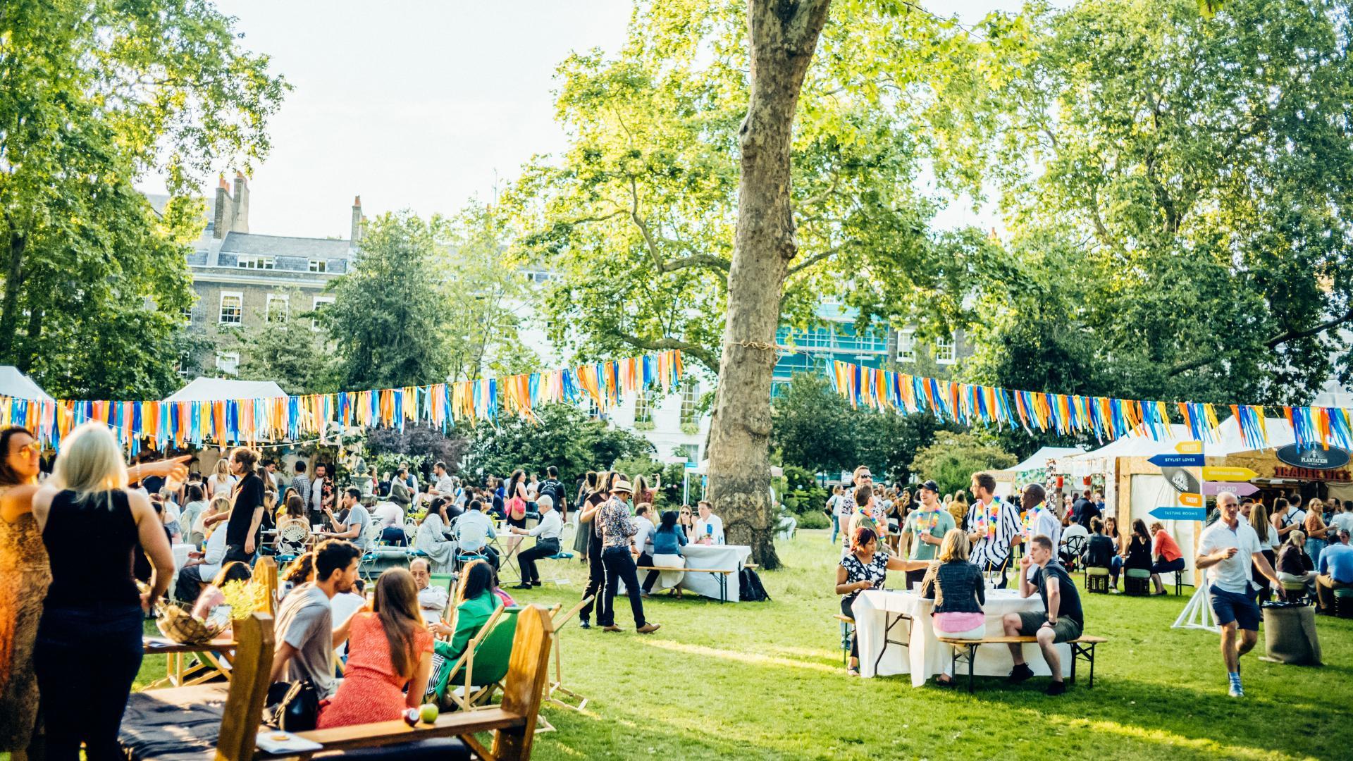 Summer in London 2021