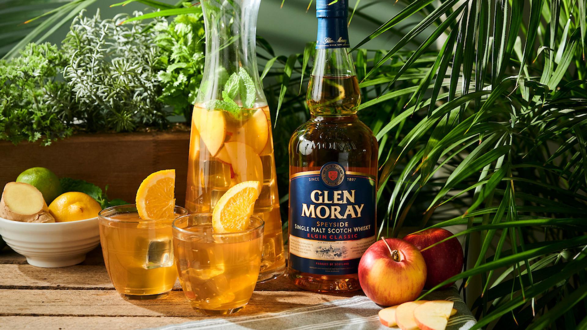 Summer recipes with Glen Moray whisky: sunshine punch