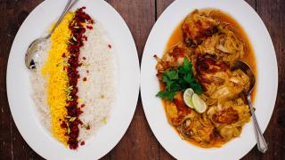 Dishes at Mazi Mas