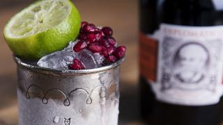 Make Rubies in the Rubble, a cocktail made for Jenny Costa by Joe Hall of Satan's Whiskers