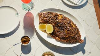 London seafood restaurants: Seabird at The Hoxton
