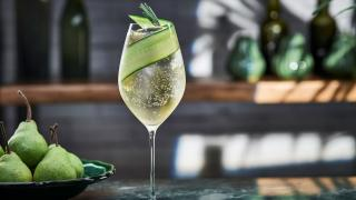 Summer spritz recipes: Belvedere organic infusions pear and ginger spritz