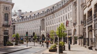 Restaurants on Regent Street, plus bars and cafés