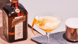 Cointreau cocktails   The sidecar