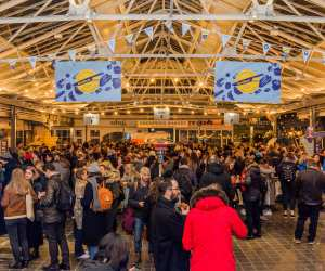 The Foodism 100 awards night, held at Greenwich Market on 24 January 2019