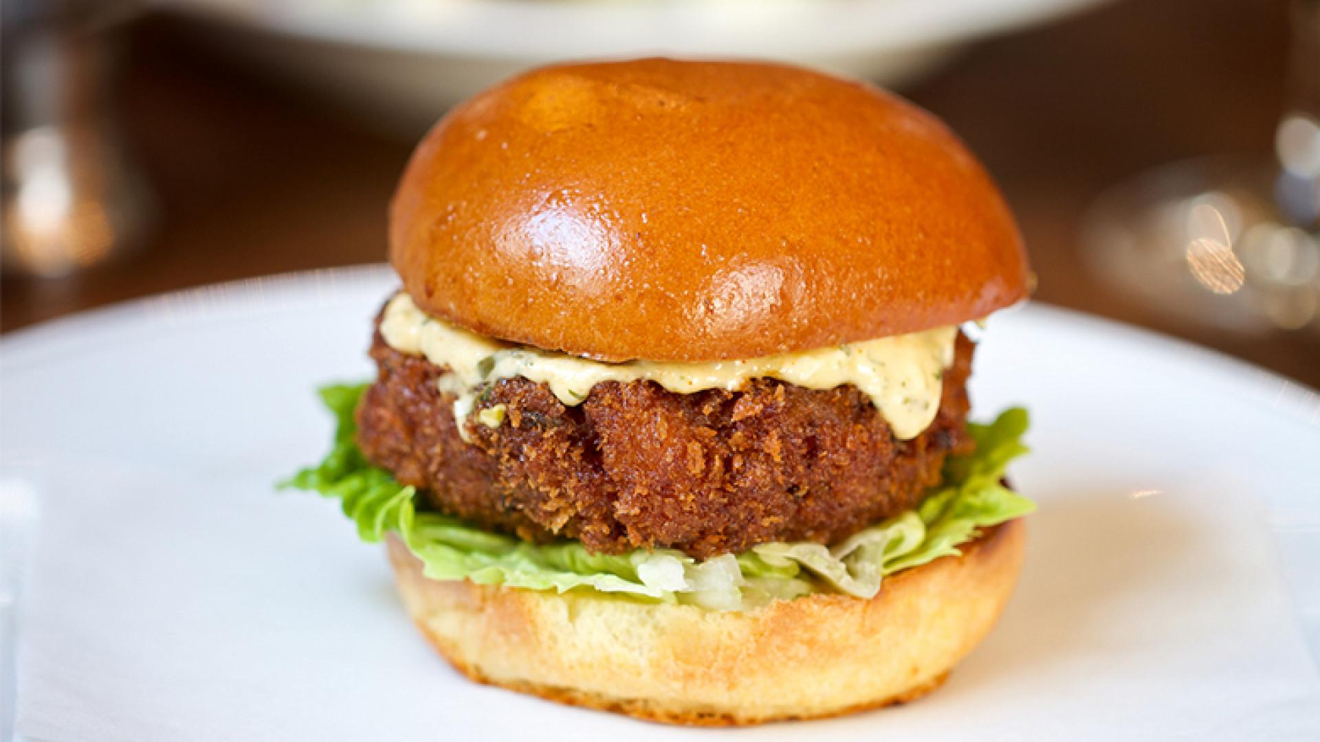 shrimp burger