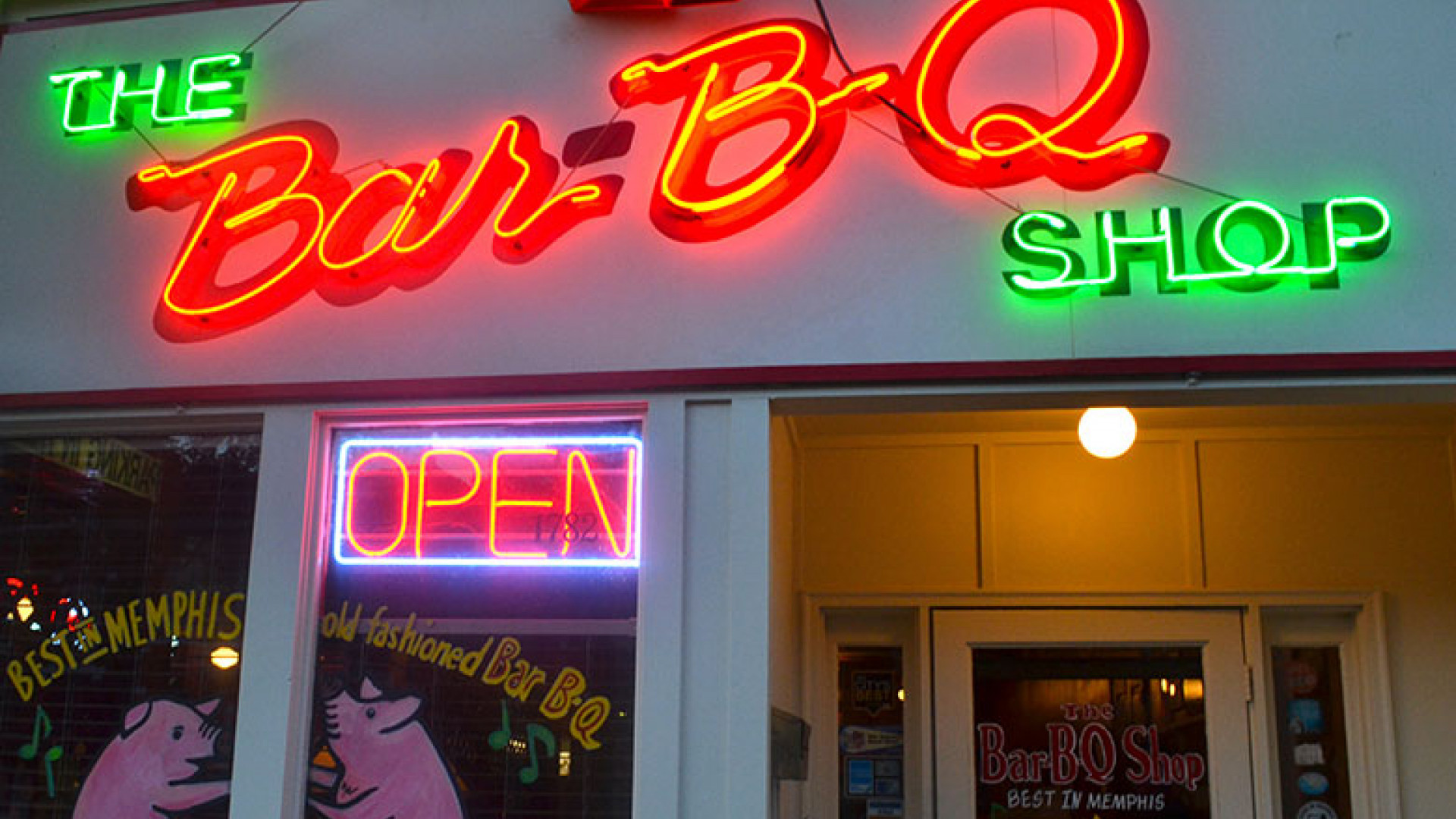 Bar-B-Q Shop