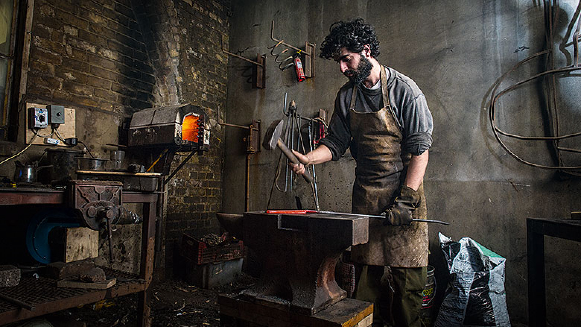 Blenheim Forge workshop