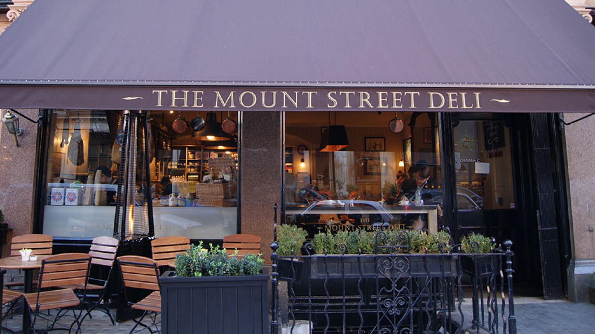 Thanksgiving at Mount Street Deli