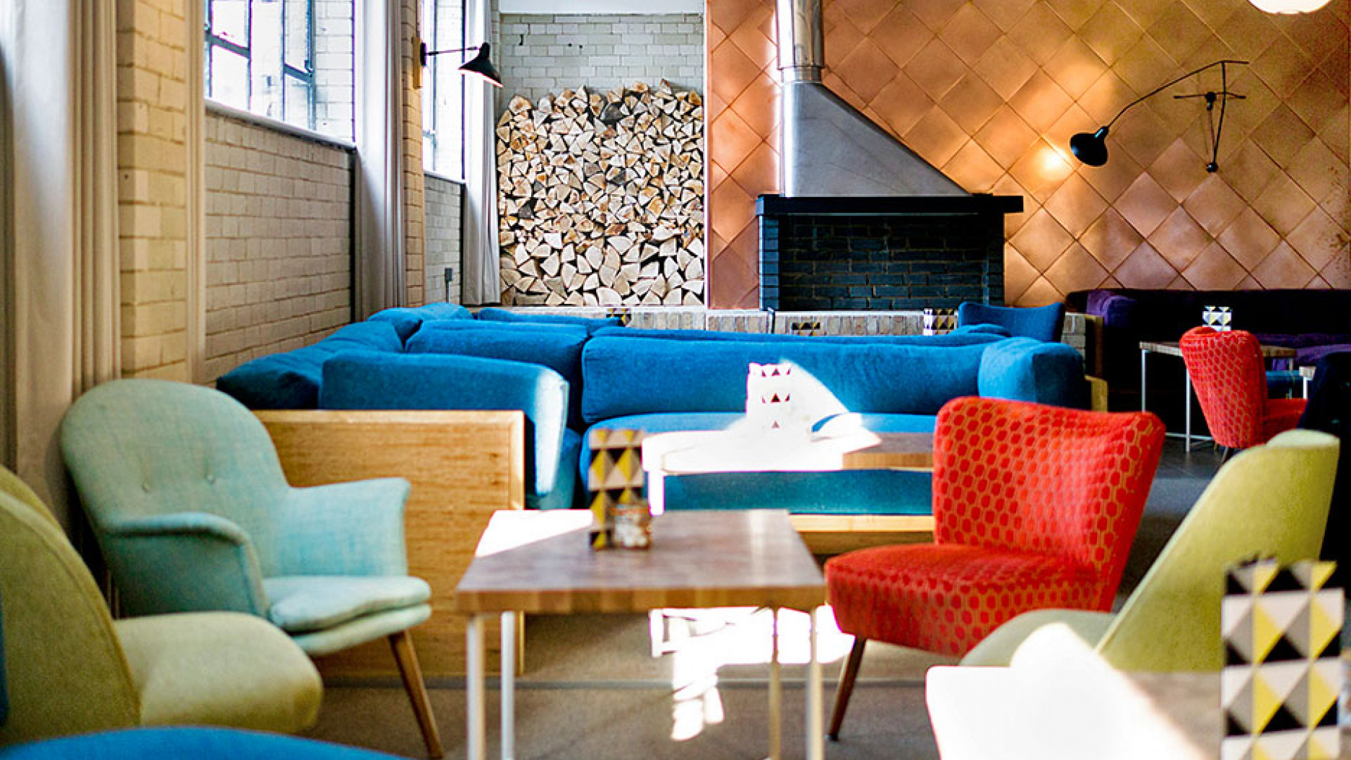 Relaxed but stylish interiors at Forge & Co