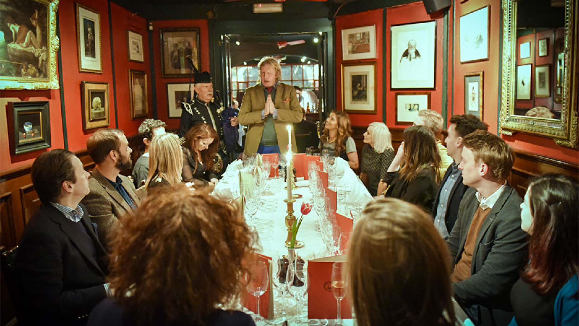 Burns Night Hootenanny at Boisdale of Belgravia