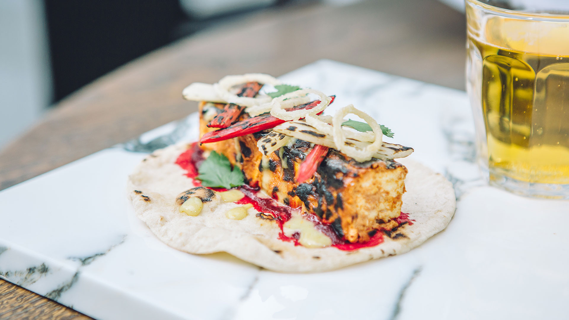 The paneer bab from Le Bab