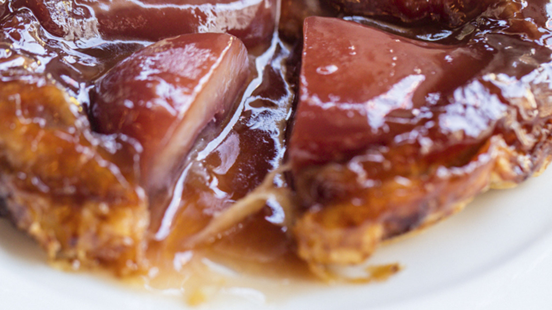 Pear and red wine tatin, Piquet