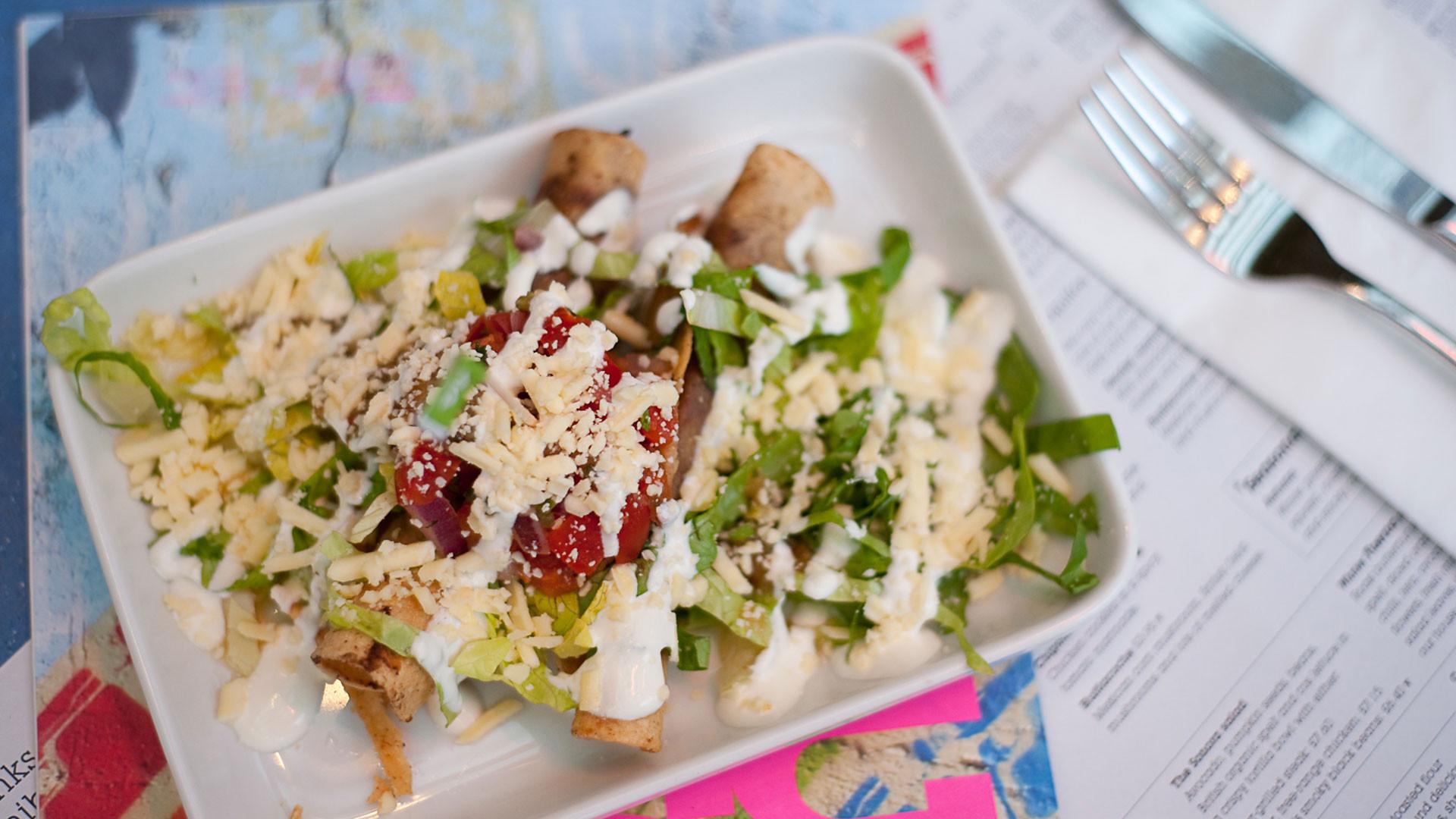 A dish at Wahaca