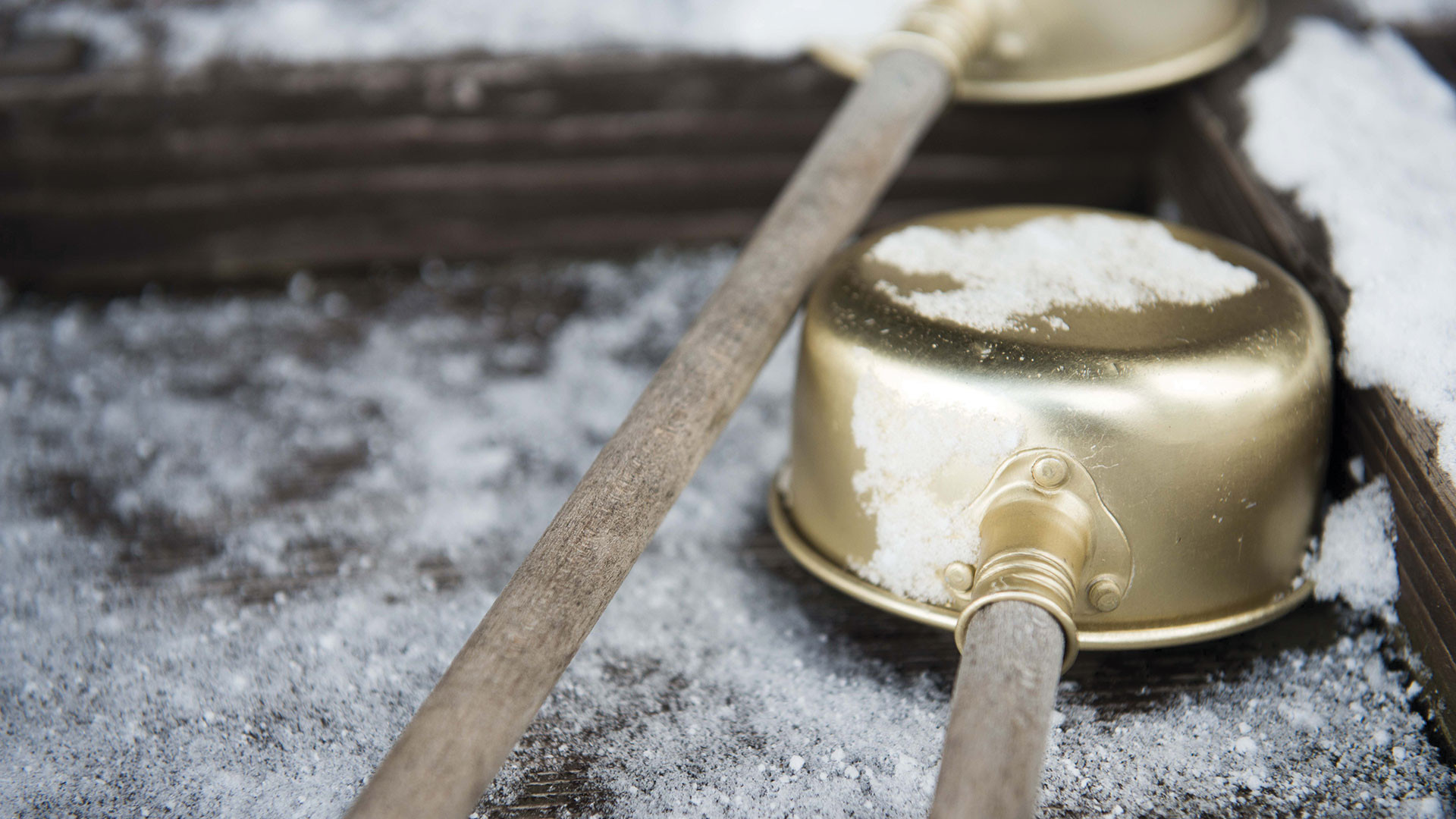 Sake-tasting ladles