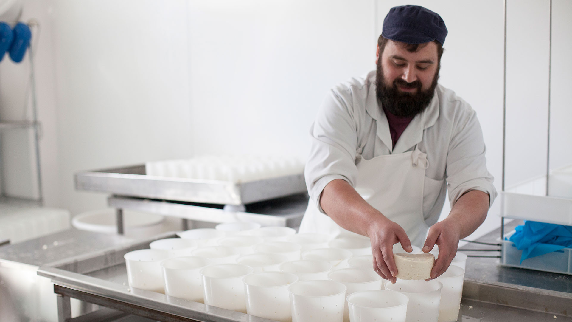 David Holton of Blackwoods Dairy