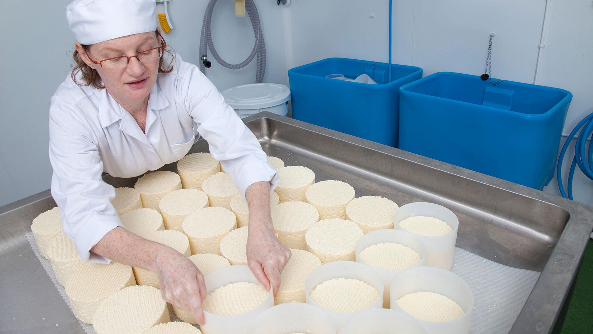 Karen Schnepp of Gringa Dairy