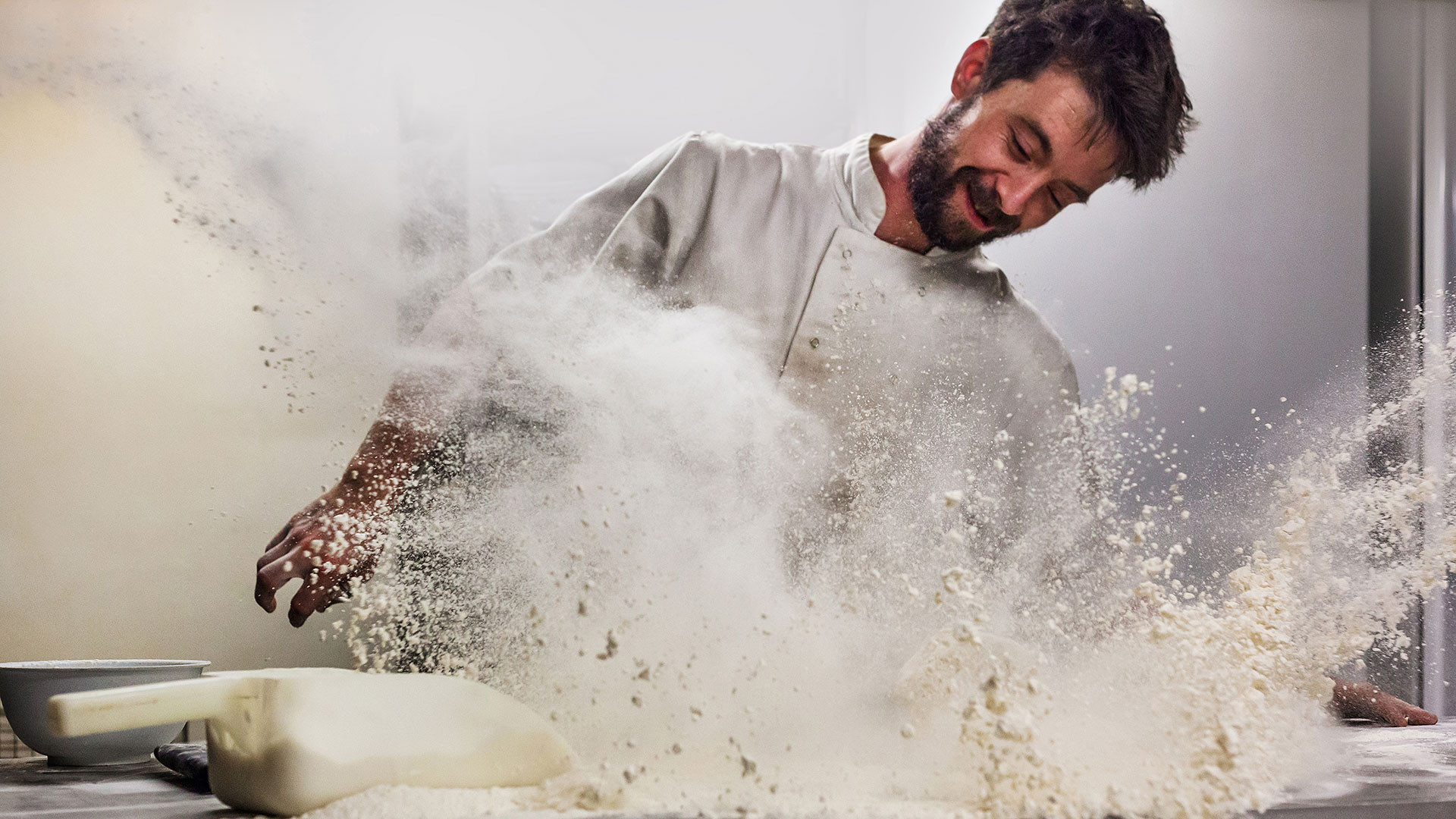 Pink Lady Food Photographer of the Year Winner, Mark Benham, Flour Frenzy