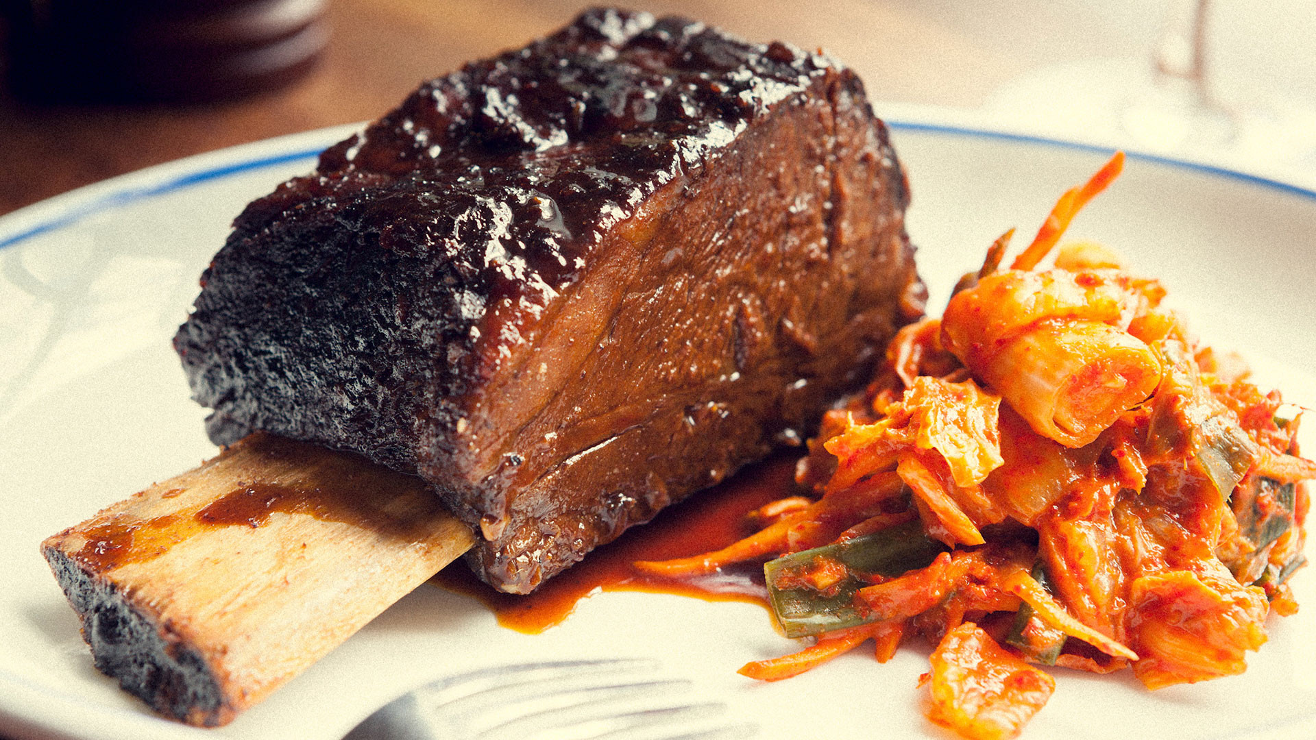 10-hour-cooked beef shortrib at Foxlow