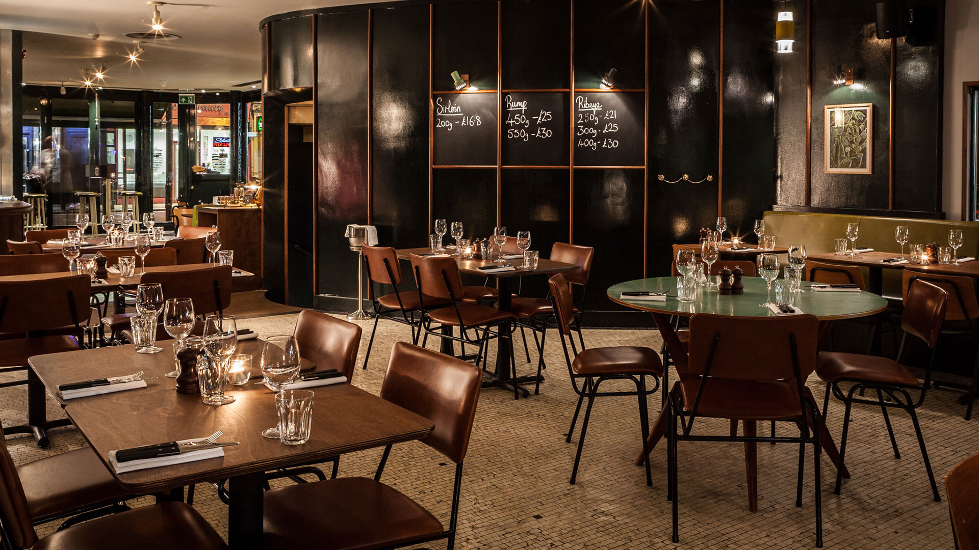 The sleek interiors at Foxlow