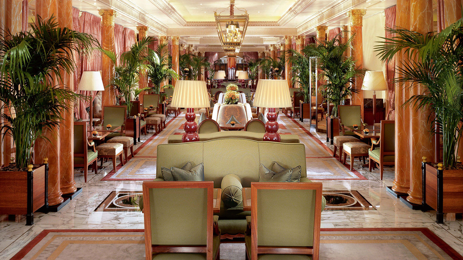 Afternoon tea at The Dorchester for Chelsea Flower Show