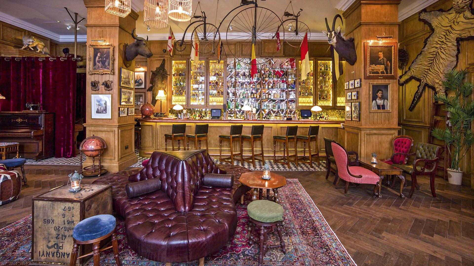 Mr Fogg's safari camp at Taste of London 2016