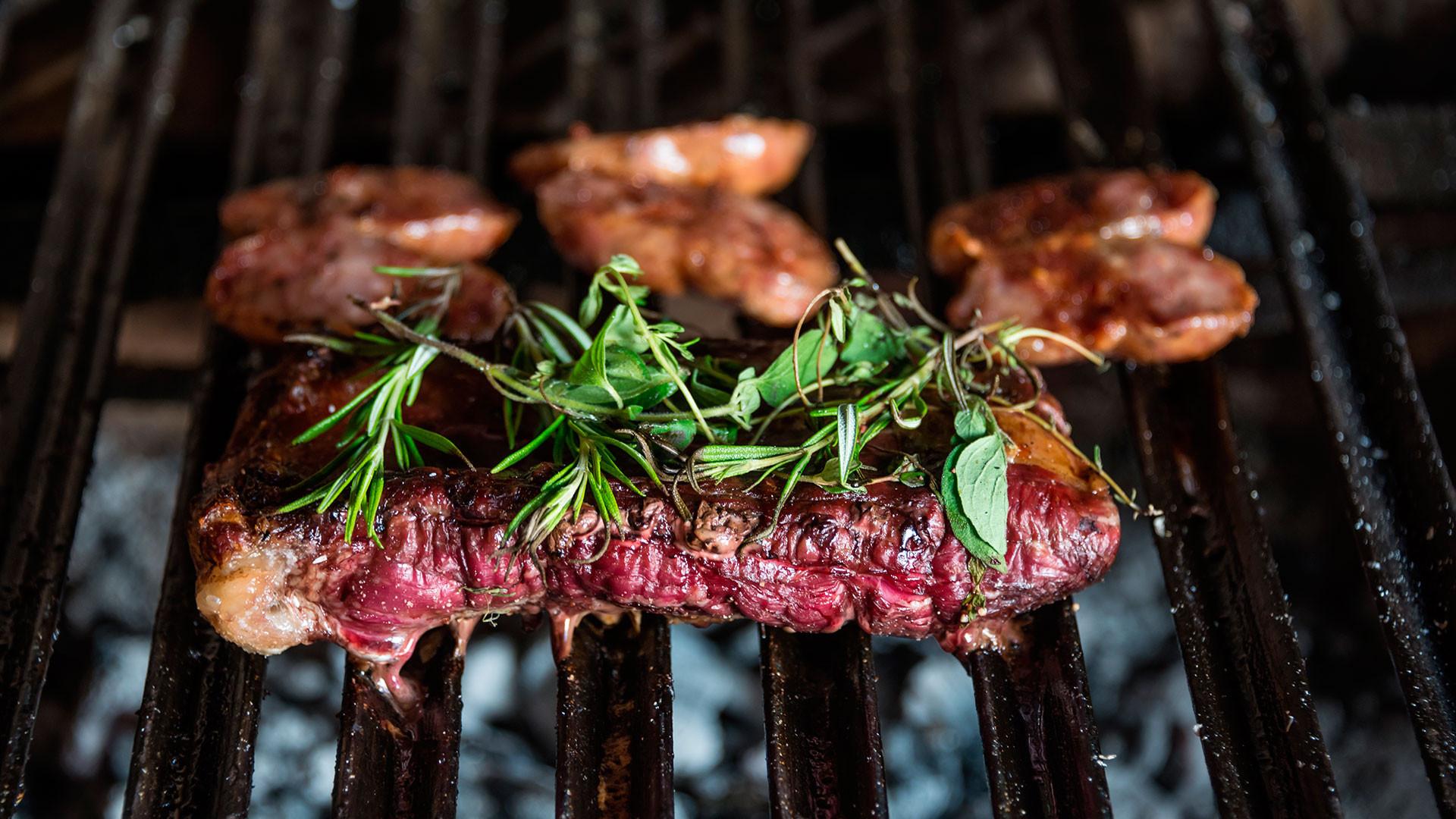 An Argentinian steak