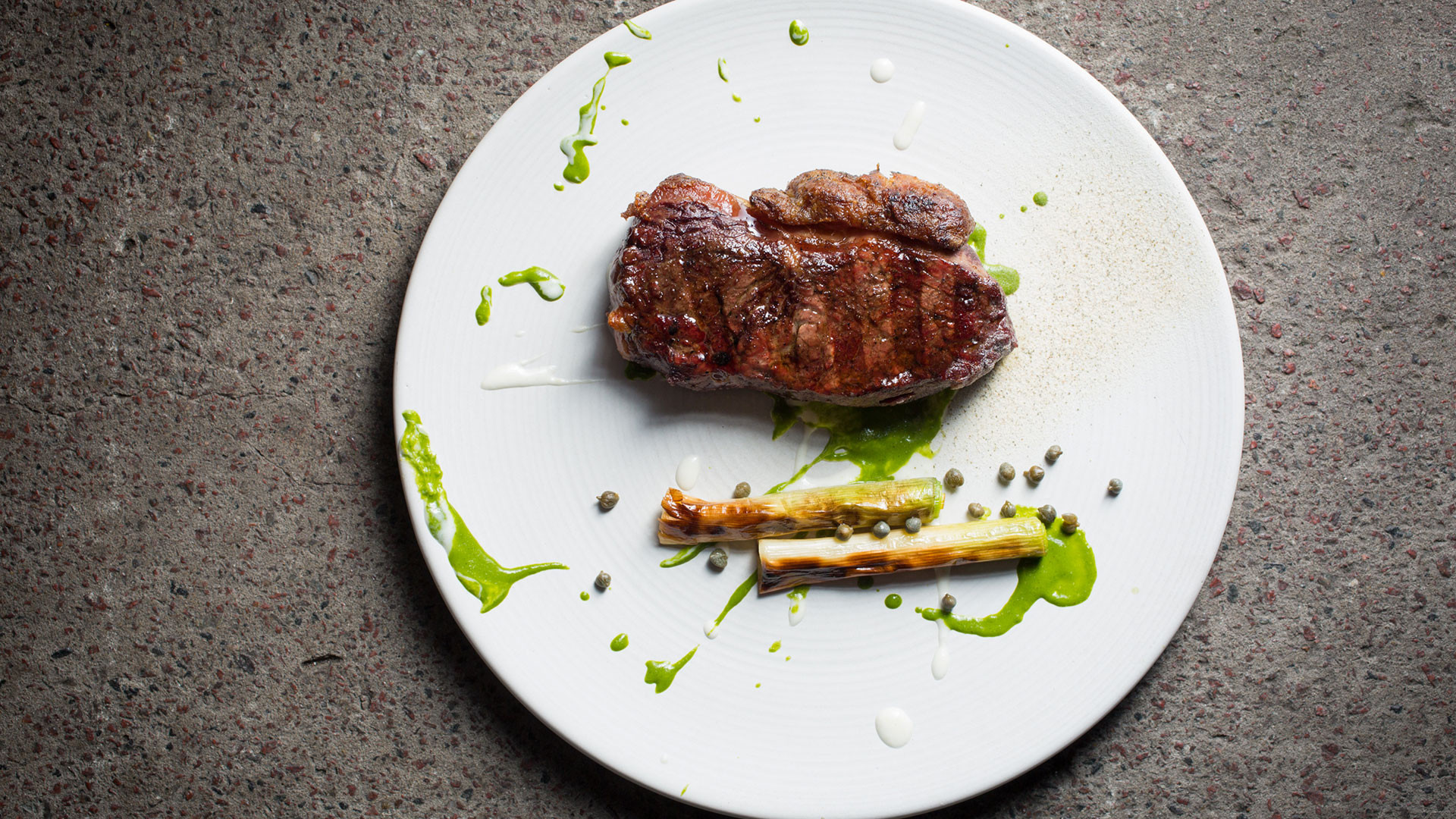 A steak from Sucre restaurant, Buenos Aires