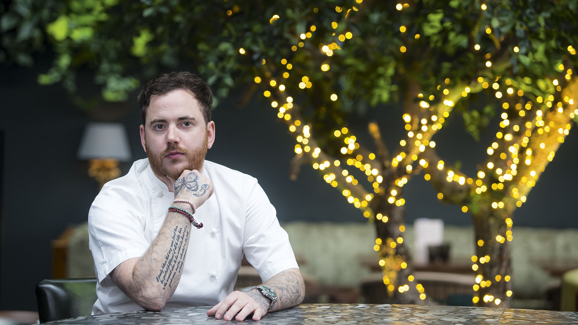 Tom Sellers at his second restaurant, Restaurant Ours
