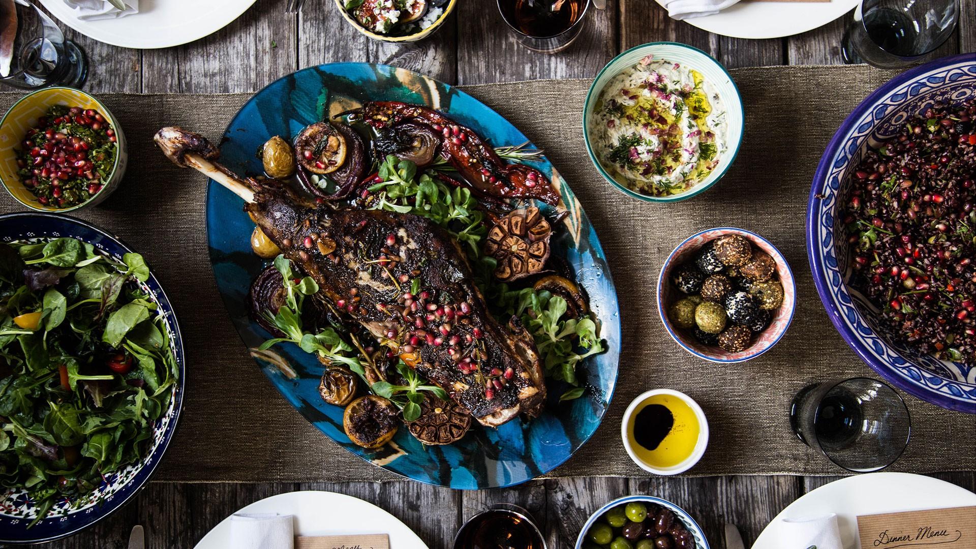 Saima Khan's colourful cooking
