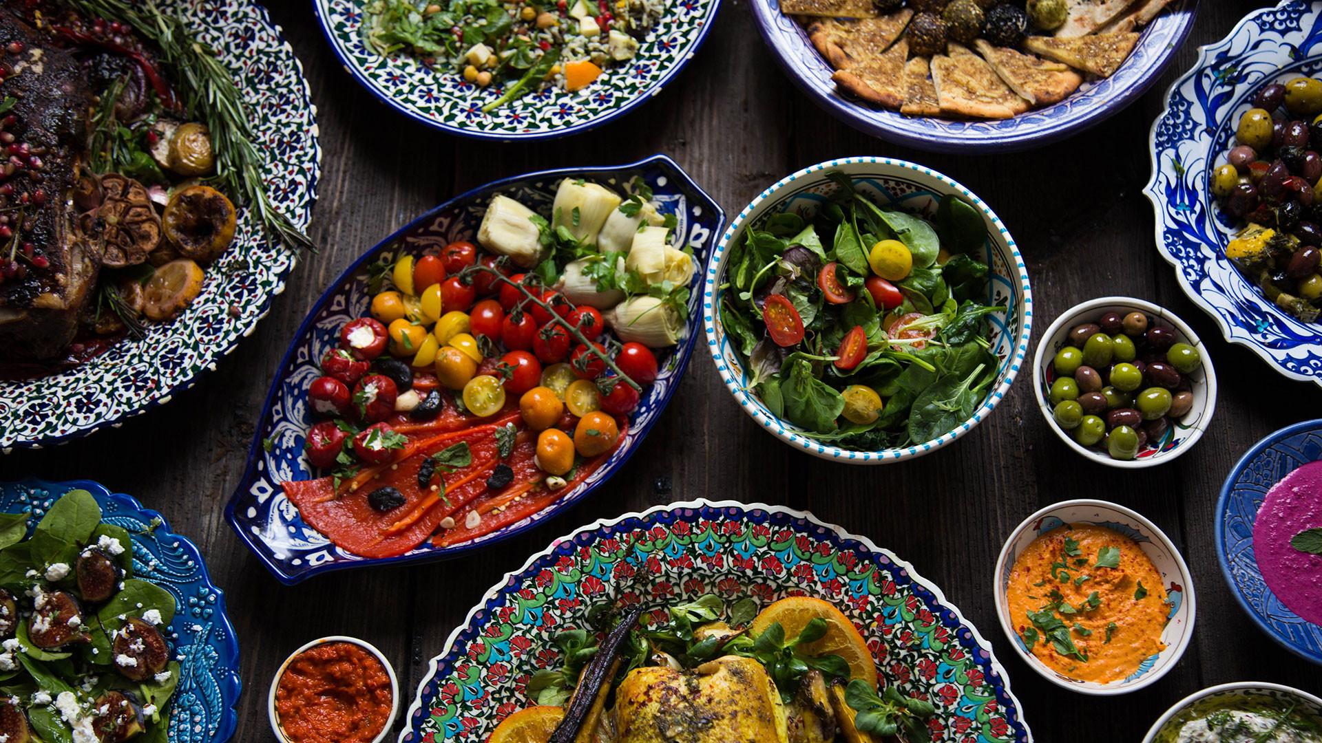 Saima Khan's Mediterranean-inspired cooking