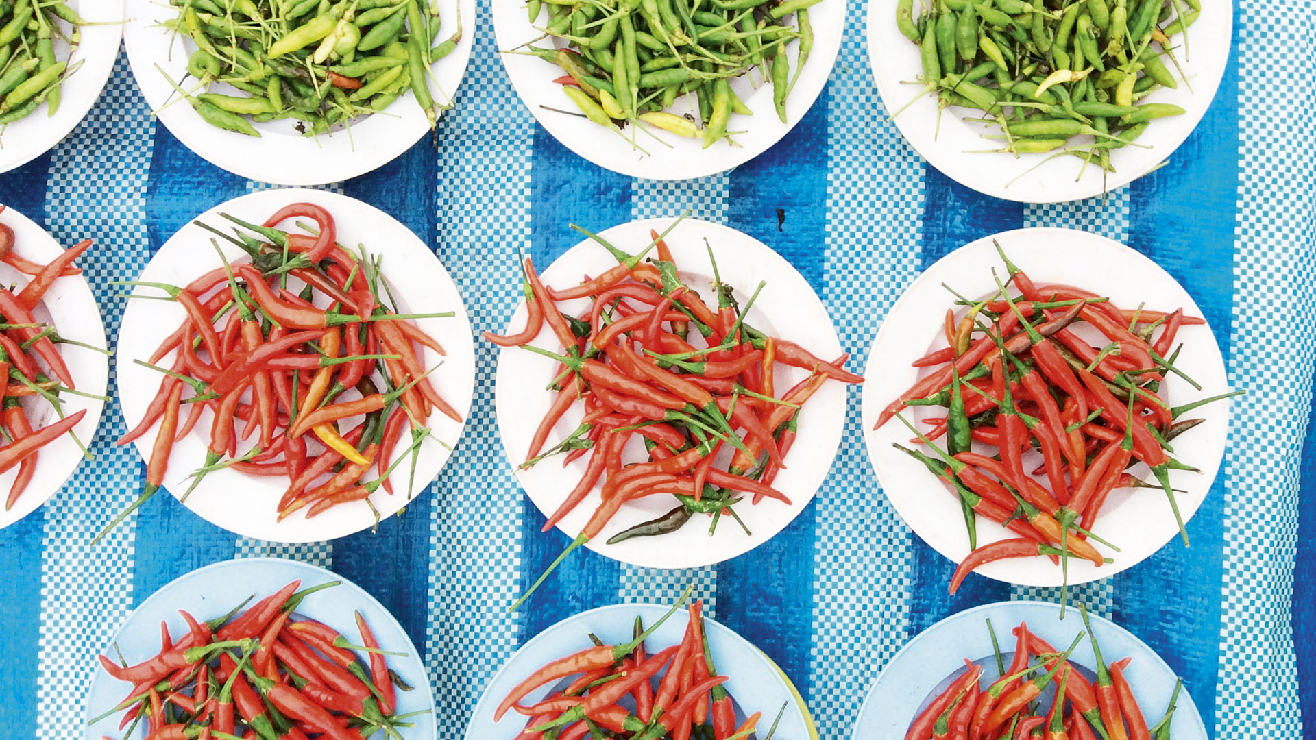 Thailand is renowned for its spicy cuisine