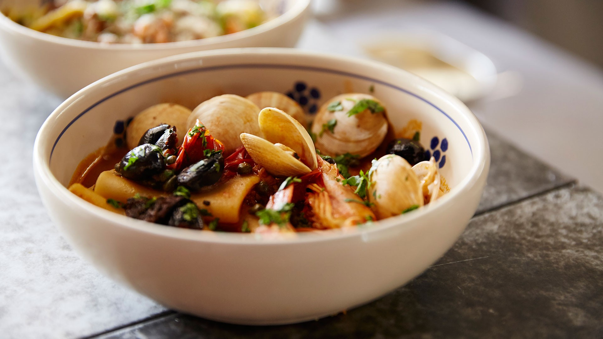 Clams at Gotto Trattoria