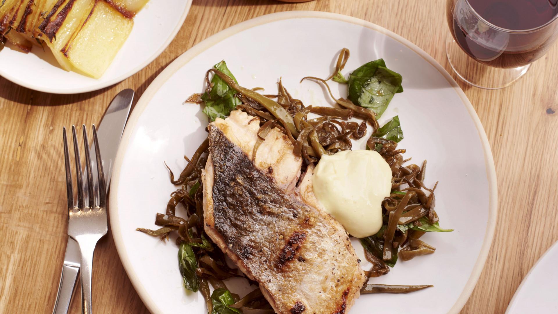 A fish dish at Sardine