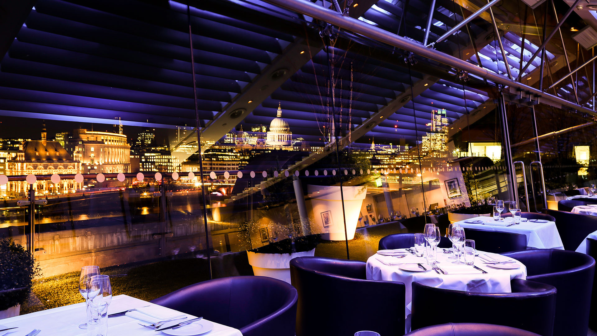OXO Tower is one of the restaurants working with StreetSmart