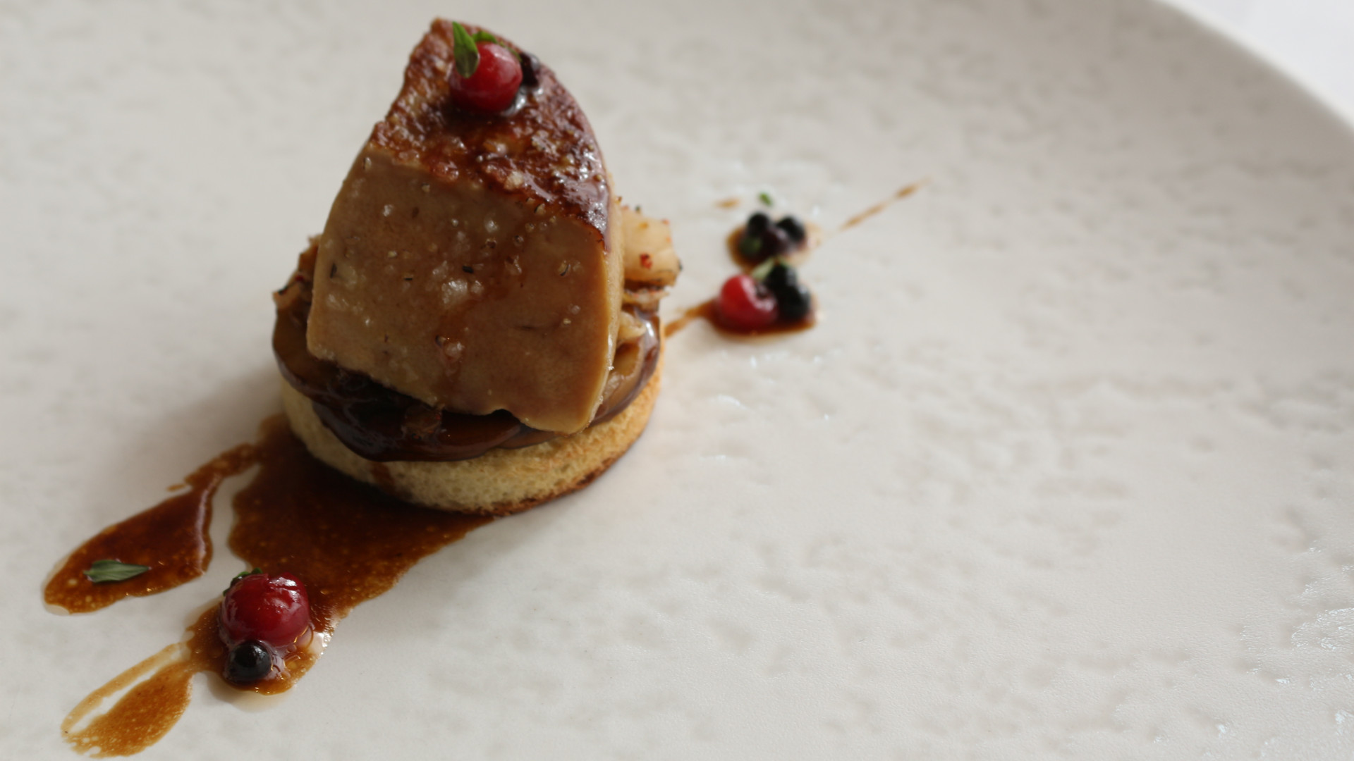 Seared fois gras