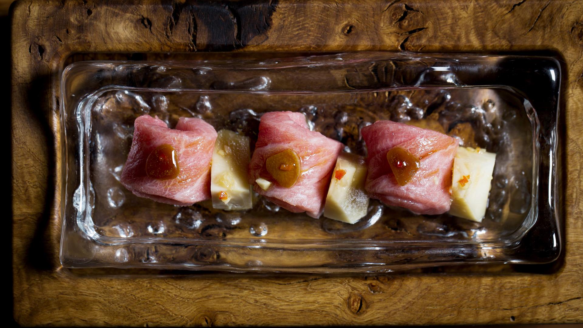 O-toro sashimi