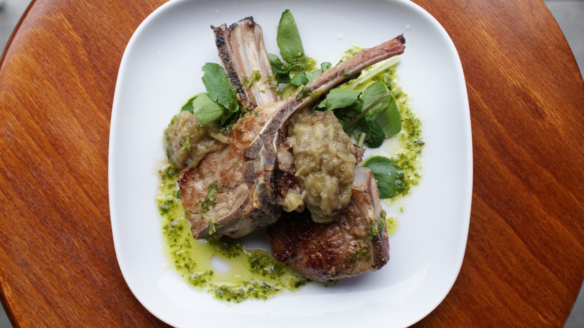 Lamb chops at Donostia Social Club