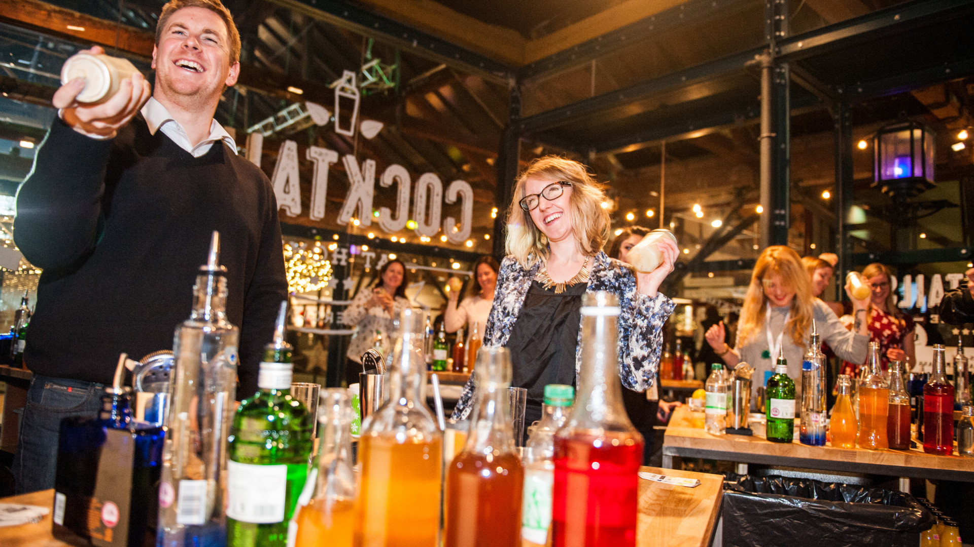 Cocktail masterclasses at Taste of London
