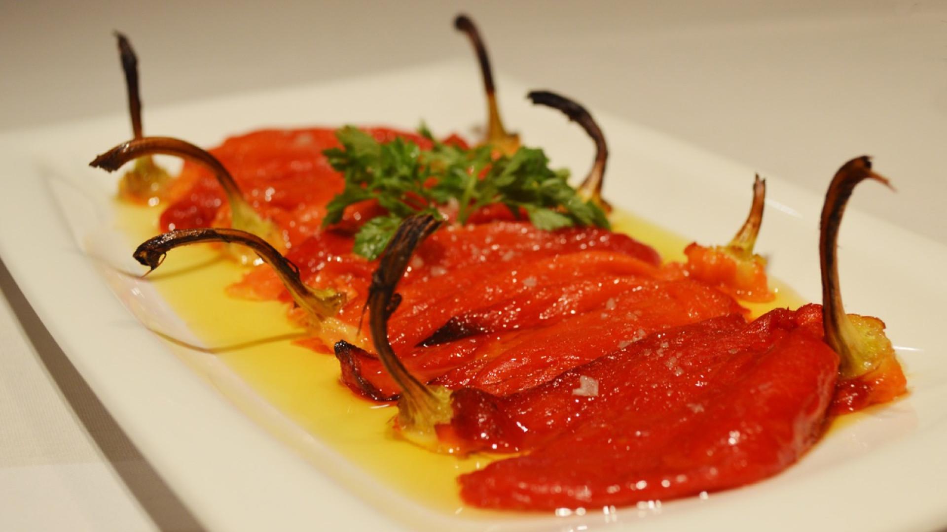A dish at Sagardi