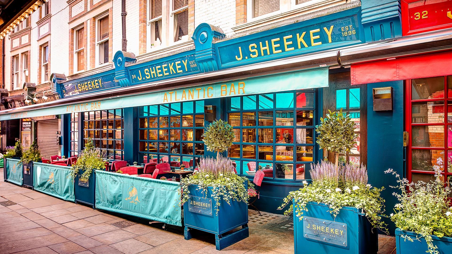 Seafood mecca J Sheekey