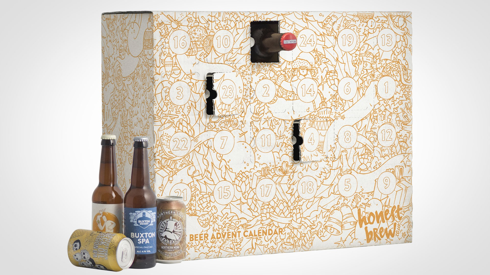 Honest Brew's beer advent calendar