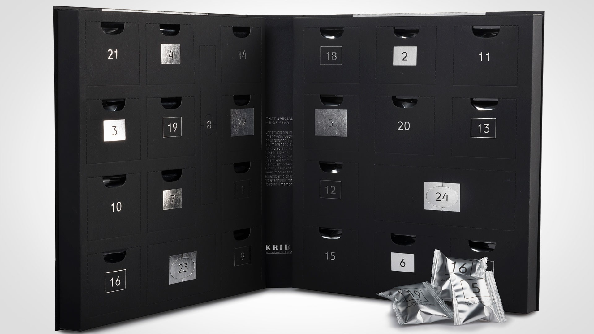 Lakrids liquorice advent calendar