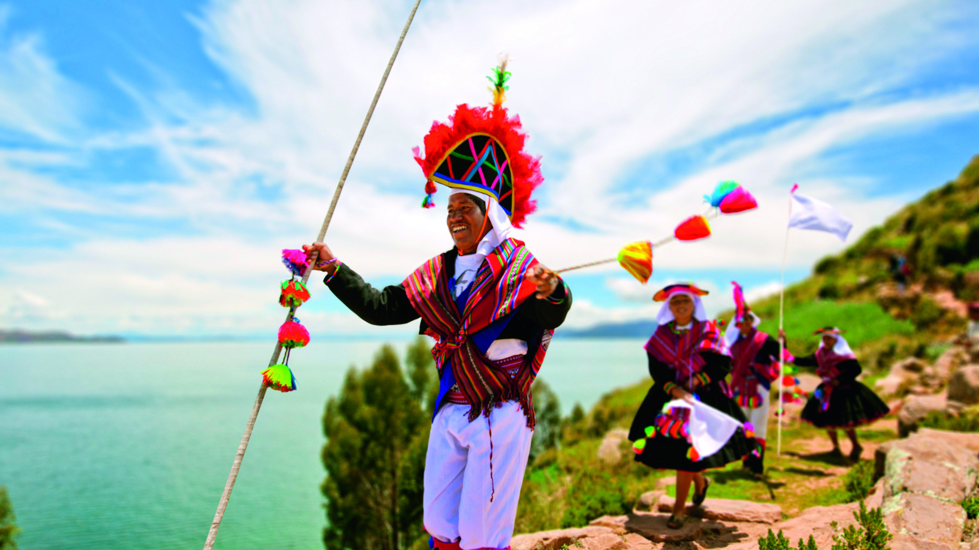 Traditional dress of Taquile