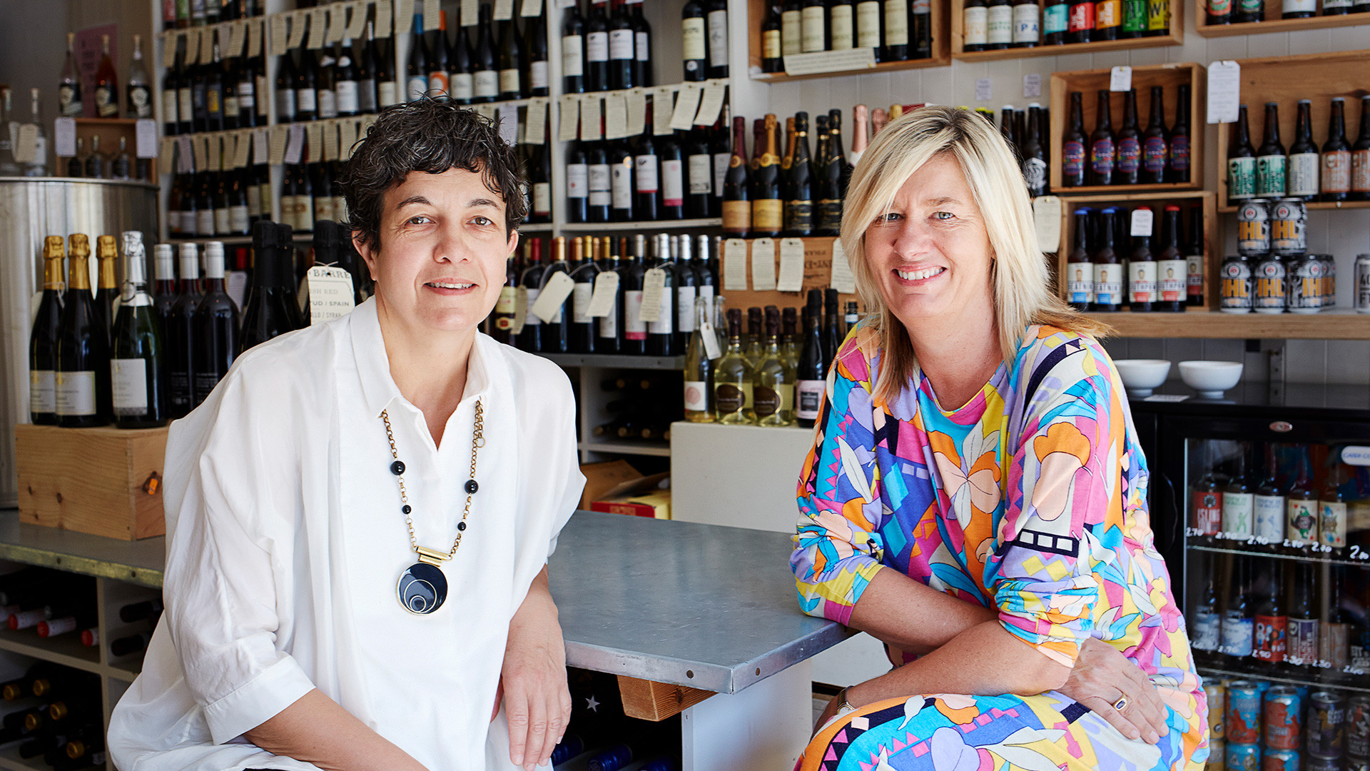 Muriel Chatel and Corinna Pyke, Directors of Borough Wines & Beers