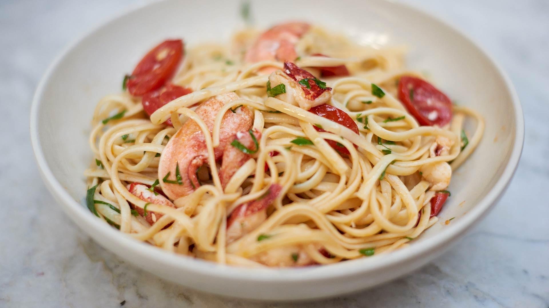 Make Angela Hartnett's lobster spaghetti